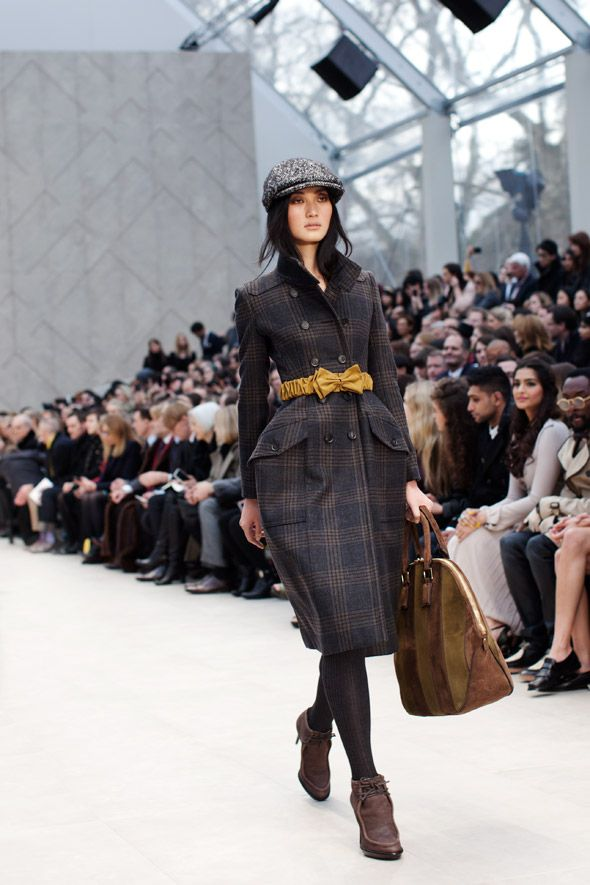 burberry fall/winter 2012.