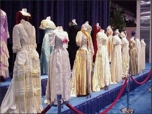 First Ladies' Dresses at the Smithsonian.