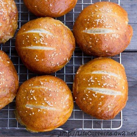 Bolos pretzel macio |  Correntes da Vida http://LifeCurrents.dw2.net