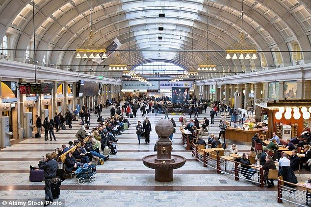 Overrun: Stockholm police reports that gangs of Moroccan minors, some as young as nine, roam the city's main train station 'stealing, assaulting security guards and groping girls'