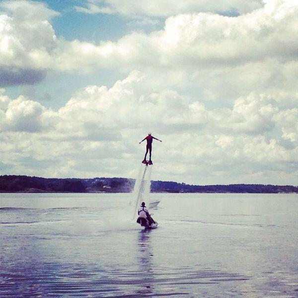 Flyboard i Stenungsund @lorenasvensson