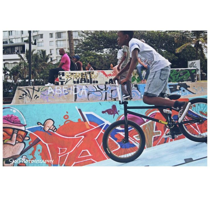 Skate park photography