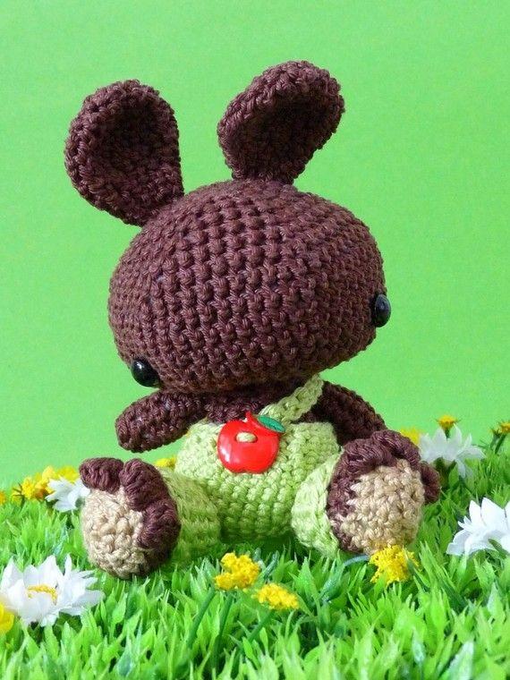 Amigurumi pattern Moritz the brown bunny  INSTANT от Lapetite2101, $4.00