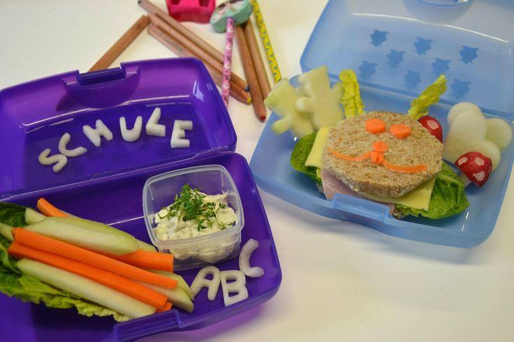 Leckere und gesunde Brotbox für Kinder
