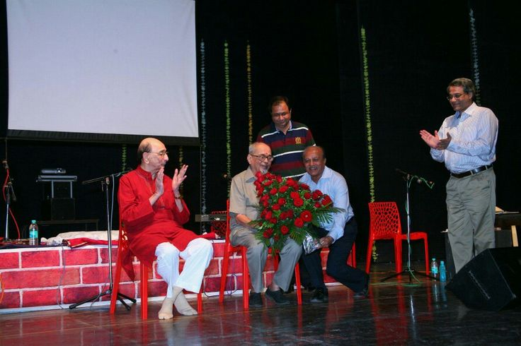 85 th Birthday Celebration of Marathi Literateur Padmabhushan Hon Mangesh Padgaonkar