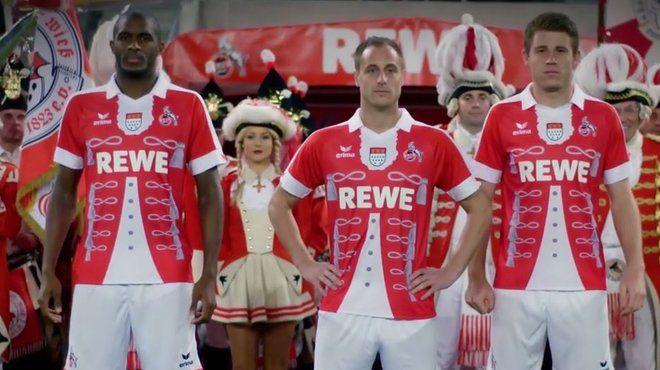 Das Karnevalstrikot des 1. FC Köln.