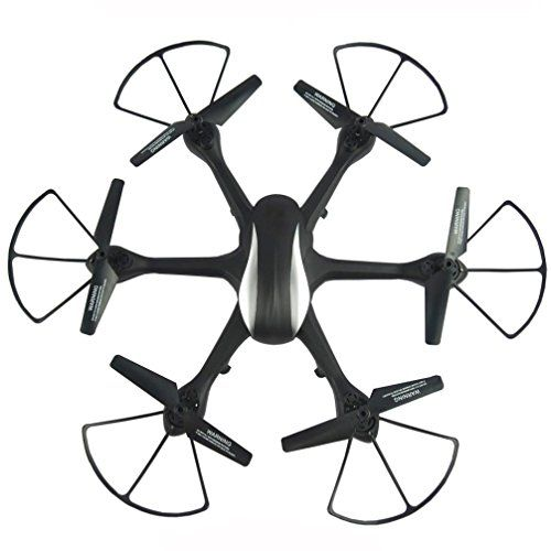 Allywit RF604 2.4G 6-AXES WIFI FPV 2.0MP HD Camera LED Drone Quadcopter (black) ** You can get additional details at the image link.