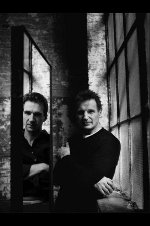 Ralph Fiennes & Liam Neeson: Great friends!