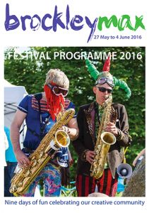 Brockley Max, 27 May to 4 June 2016