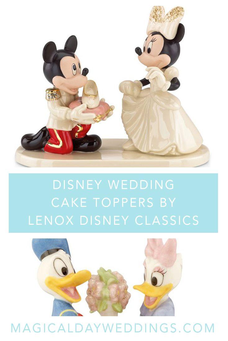 Disney Wedding Cake Toppers by Lenox Disney Classics