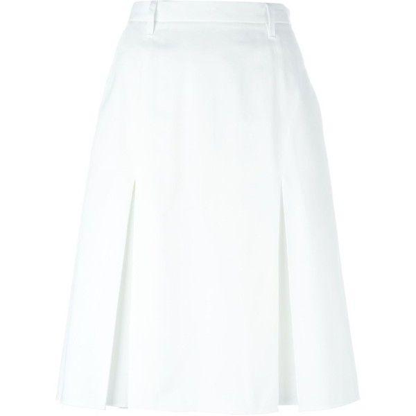 Best 25  White high waisted skirt ideas on Pinterest | Puffy skirt ...