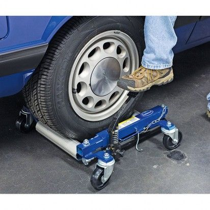 Motor'n   Eastwood Launches Hydraulic Wheel Dollies that Make Moving Cars Easy!
