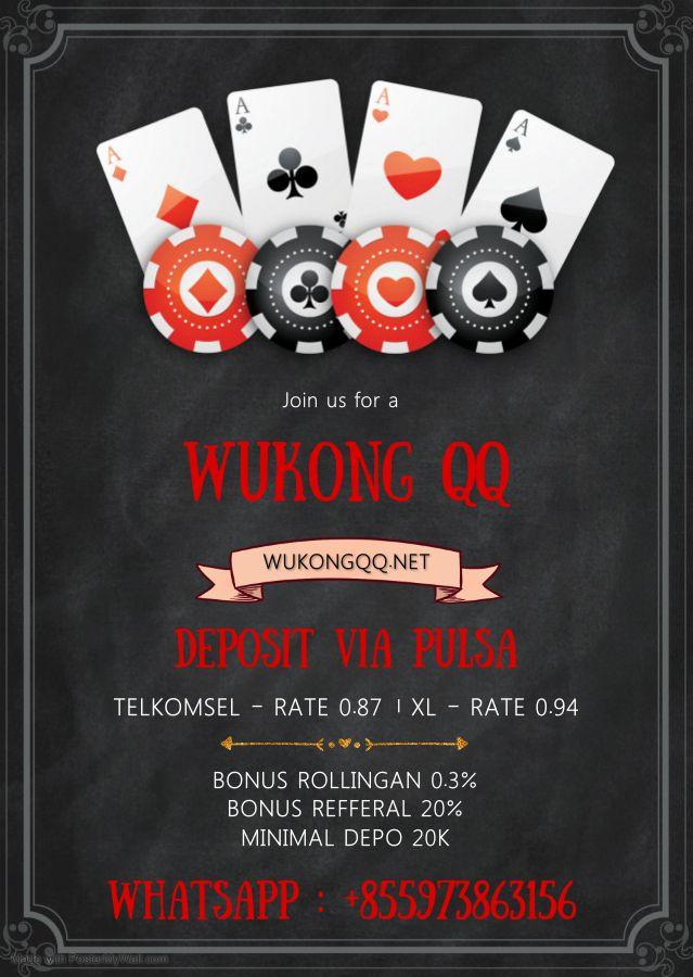 Situs Pkv Dengan Pelayanan Deposit Via Pulsa Tercepat Menang Besar Tanpa Syarat Poker Restaurant Flyer Agen
