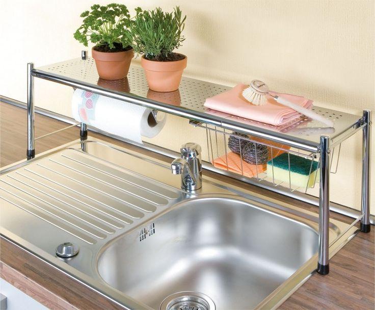 Repisas para el fregadero salas de artesan as for Cocinas profesionales para el hogar