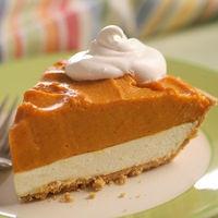 Sensational Double Layer Pumpkin Pie by Grandma JacksonDesserts Recipe, Pumpkin Recipe, Cream Cheese, Food, Pumpkin Pies Recipe, Pie Recipes, Layered Pumpkin, Pumpkin Cheesecake, Double Layered