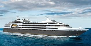 Luxury Cruising in Sleek looking Ship