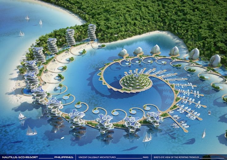Vincent Callebaut envisions futuristic eco-resort in the Philippines #Architecture