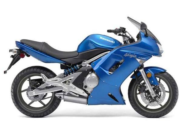2007 Kawasaki Ninja 650R Blue #motorcycles ::: ASU-BEEBE ::: www.ASUB.edu ::: @ASUBeebe ::: #ASUBeebe ::: #ProudToBeBlue