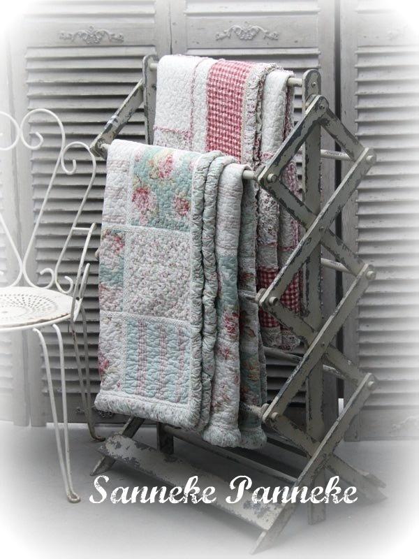 Handdoekrek oud gepattineerd