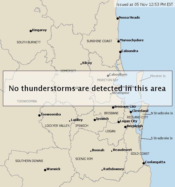 Thunderstorm Tracker Image
