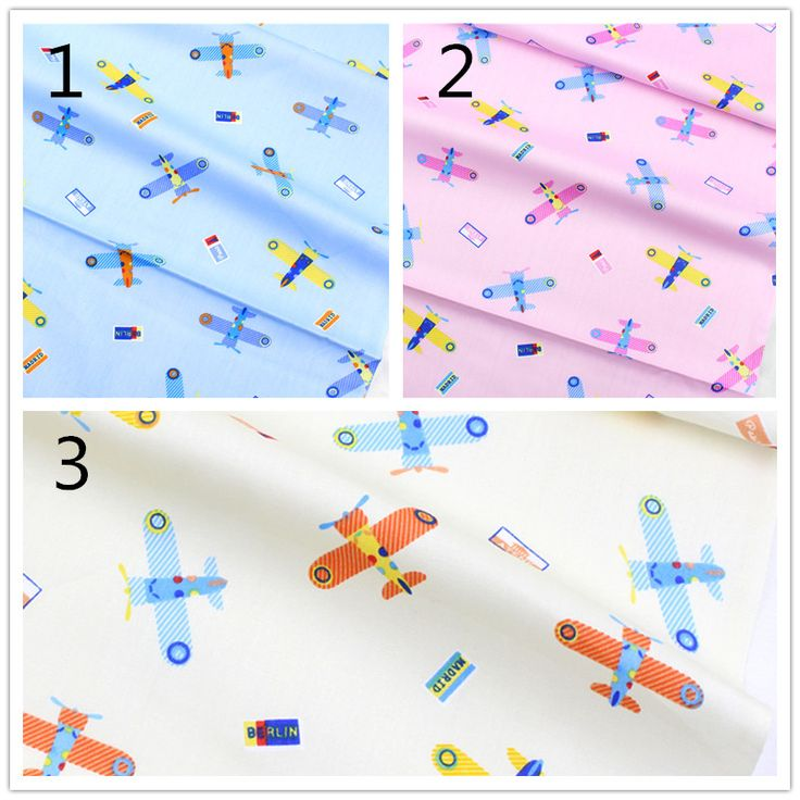 1622971 , width 1.6 meters, diy cartoon plane cotton fabric, patchwork cotton cloth home textile, Baby clothes, skirts, pillow #Affiliate