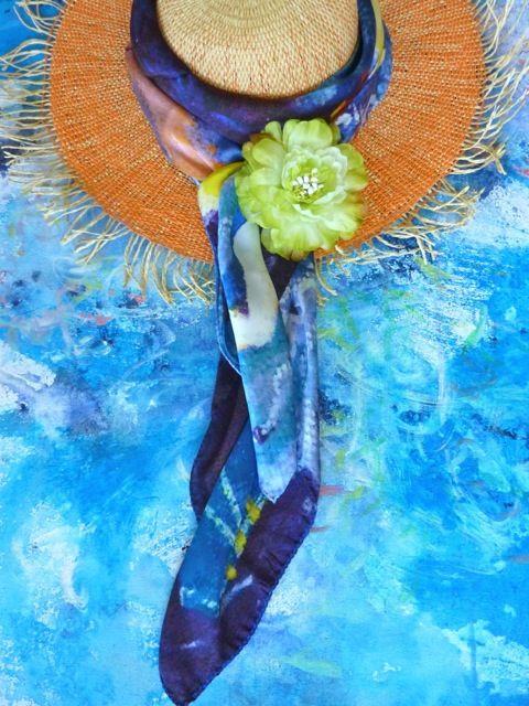 midsummer night dream foulard by antoh and midori mccabe aquaranta - Foulard Color