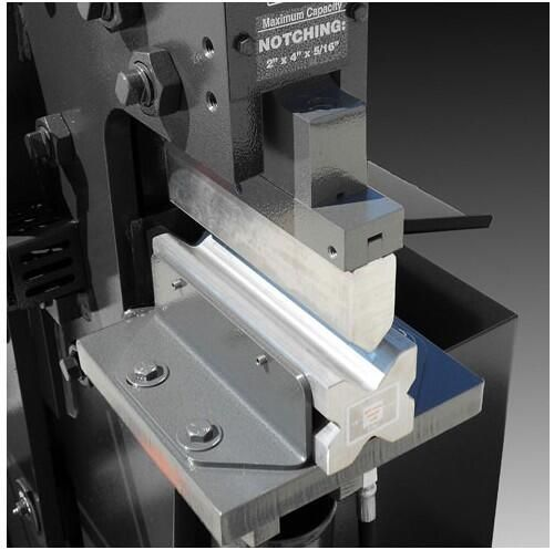 Bending On An Iron Worker Press Brake Dies Tooling For