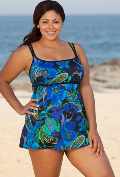 cd582fc25242d Sizzling Summertime Plus Size Swimsuits Afrobella