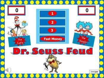 dr seuss feud seuss themed powerpoint game perfect for read