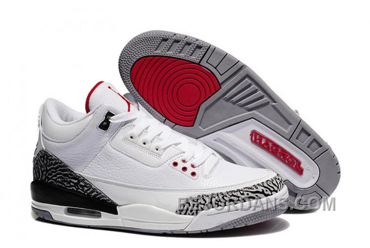 http://www.bejordans.com/big-discount-for-sale-air-jordan-3-iii-white-fire-redcement-greyblack-2011.html BIG DISCOUNT ! FOR SALE AIR JORDAN 3 (III) WHITE/FIRE RED-CEMENT GREY-BLACK 2011 Only $90.00 , Free Shipping!