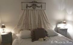Rideau lin Coquecigrues modele reine sur www.lemondederose.com