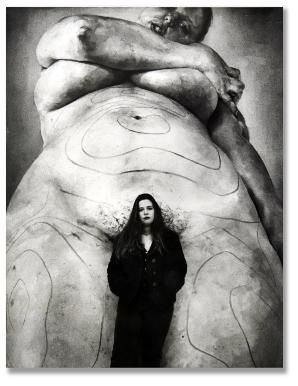 Jenny Saville, Photographed by Glynn Griffiths. Contact The Horsebox Gallery for more details on his works/available prints.