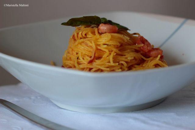 Un primo piatto semplice e gustoso da realizzare in pochissimo tempo.