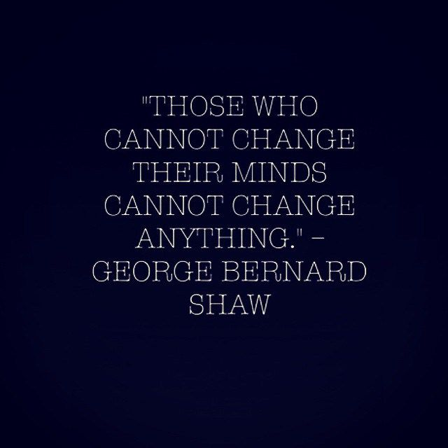 quotes on attitude those who cannot change their minds