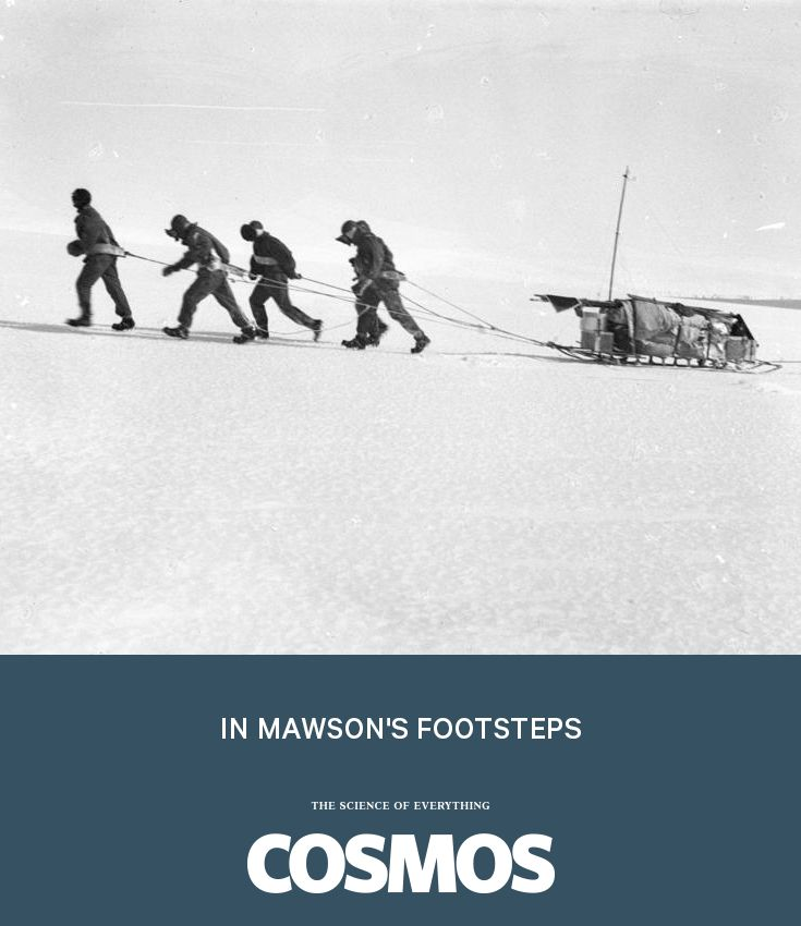 A trip to the Antarctic to gather data that they can compare with the measurements taken by Australian explorer & geologist Douglas Mawson more than 100 years ago
