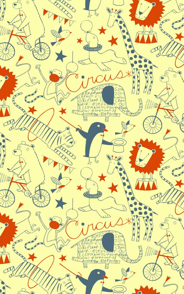 circus patterns printable - photo #46