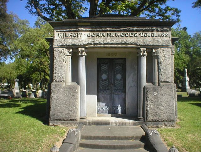 """Millionaire's Row"" - Stockton Rural Cemetery, Stockton, California"