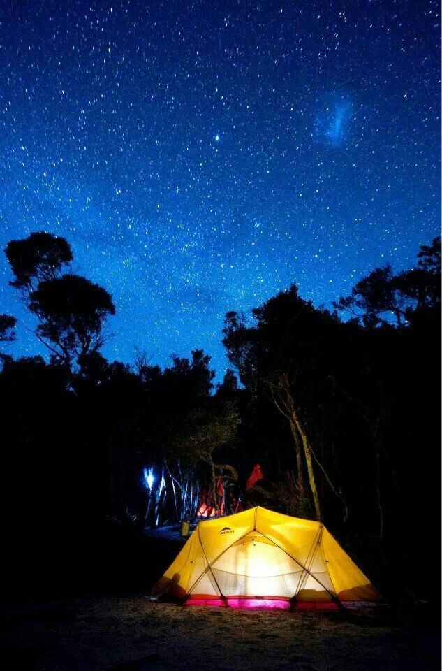 Australia starry night