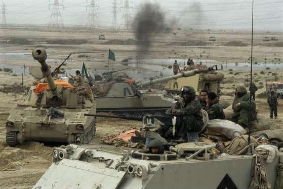 Guerra do Golfo (1990-1991) – US$ 102 bilhõesEm 1990, o Iraque, comandado por Saddam Hussein, invadi... - (Getty Images)