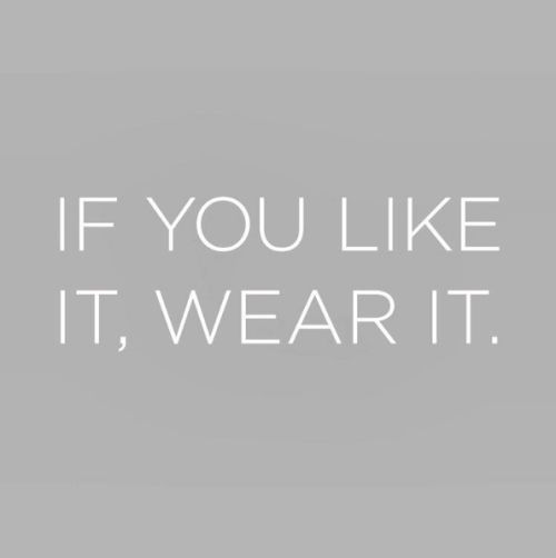 Fashion Quotes // Just be you.