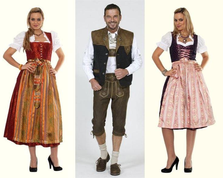 Национальный костюм немецкой женщины