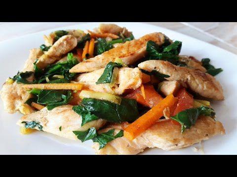 5 recetas de pechugas de POLLO que no puedes perderte + vuestros platos - YouTube