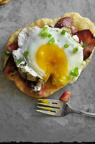 Fry Bread Breakfast Tacos | The Candid Appetite