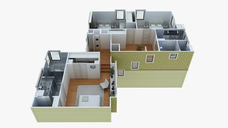 40 best images about 2d and 3d floor plan design on pinterest for 3d layout maker