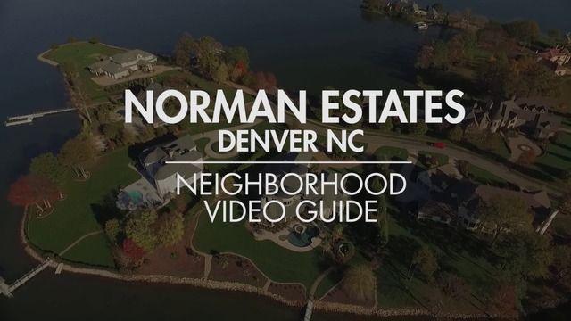 Denver NC Ultra Luxury Community - Norman Estates - Watch the VIDEO!  #Denver #North #Carolina