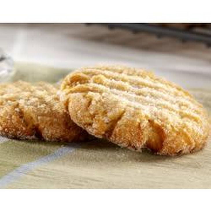 Easy Peanut Butter Cookies by EAGLE BRAND® Recipe Desserts with sweetened condensed milk, Jif Creamy Peanut Butter, large eggs, vanilla extract, biscuit baking mix, granulated sugar