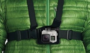 Groupon - GoPro Action-Camera Body Straps and Harnesses. Groupon deal price: $7.99