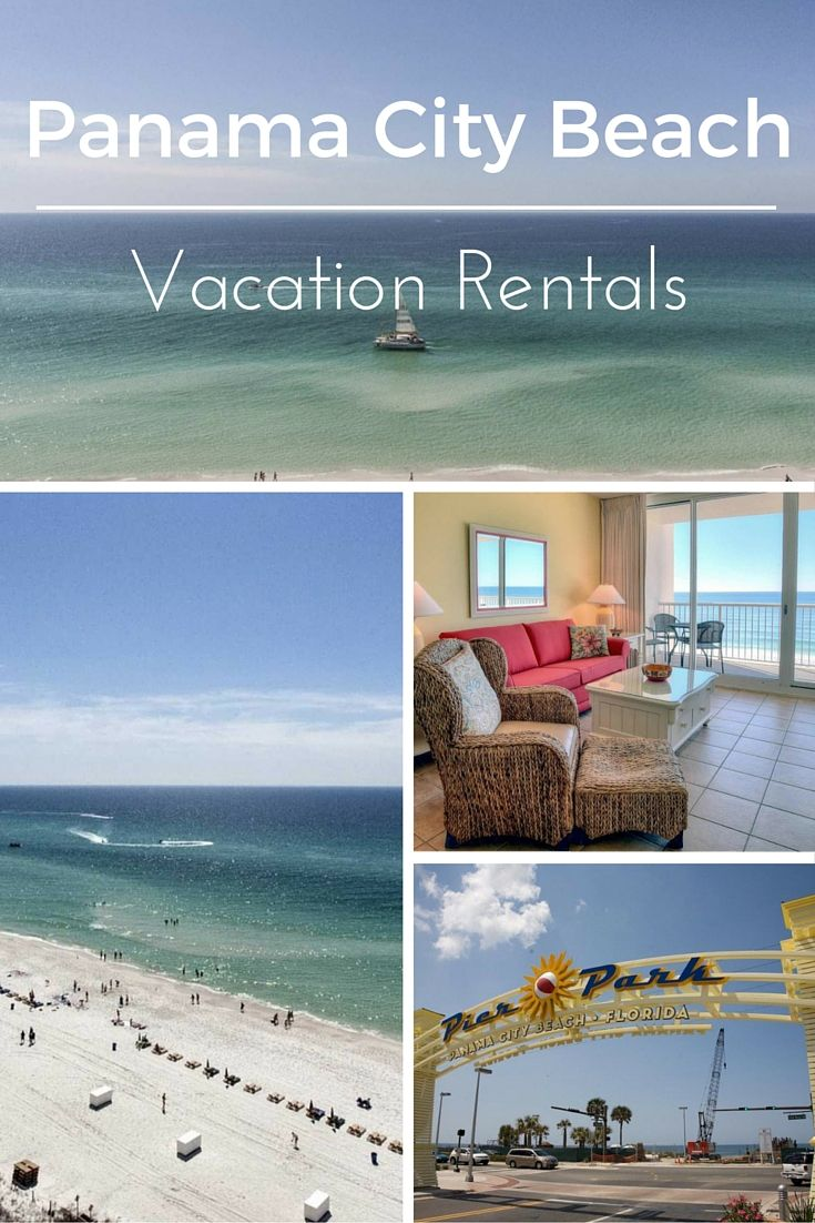 Browse our Panama City Beach vacation rentals! We have dozens of condos, houses, studios and more for all group sizes and budgets. Panama City Beach is one of the top vacation spots in the Gulf due to its laid-back vibe and beach fun! #PanamaCityBeach #vacation #Florida