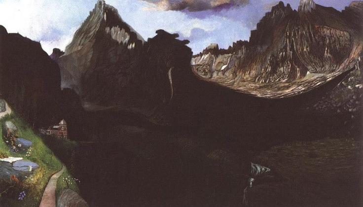 Csontváry Kosztka Tivadar - A Nagy Tarpatak völgye a Tátrában