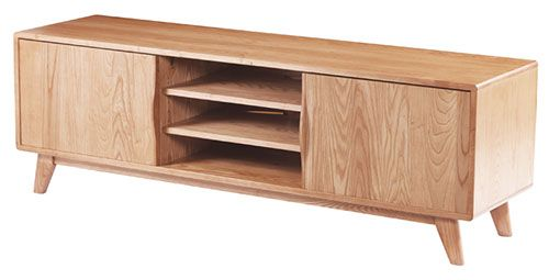 Entertainment Unit with Shelves - Hunter Furniture — Hunter Furniture
